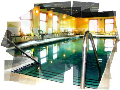 Indoor pool graphic