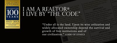 Pocono realtor code of ethics under all is the land