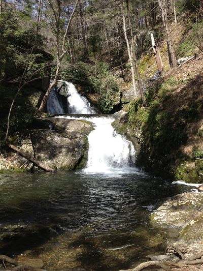Tumbling waters hike poconos