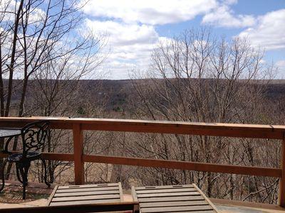 Enjoy the views in saw creek community